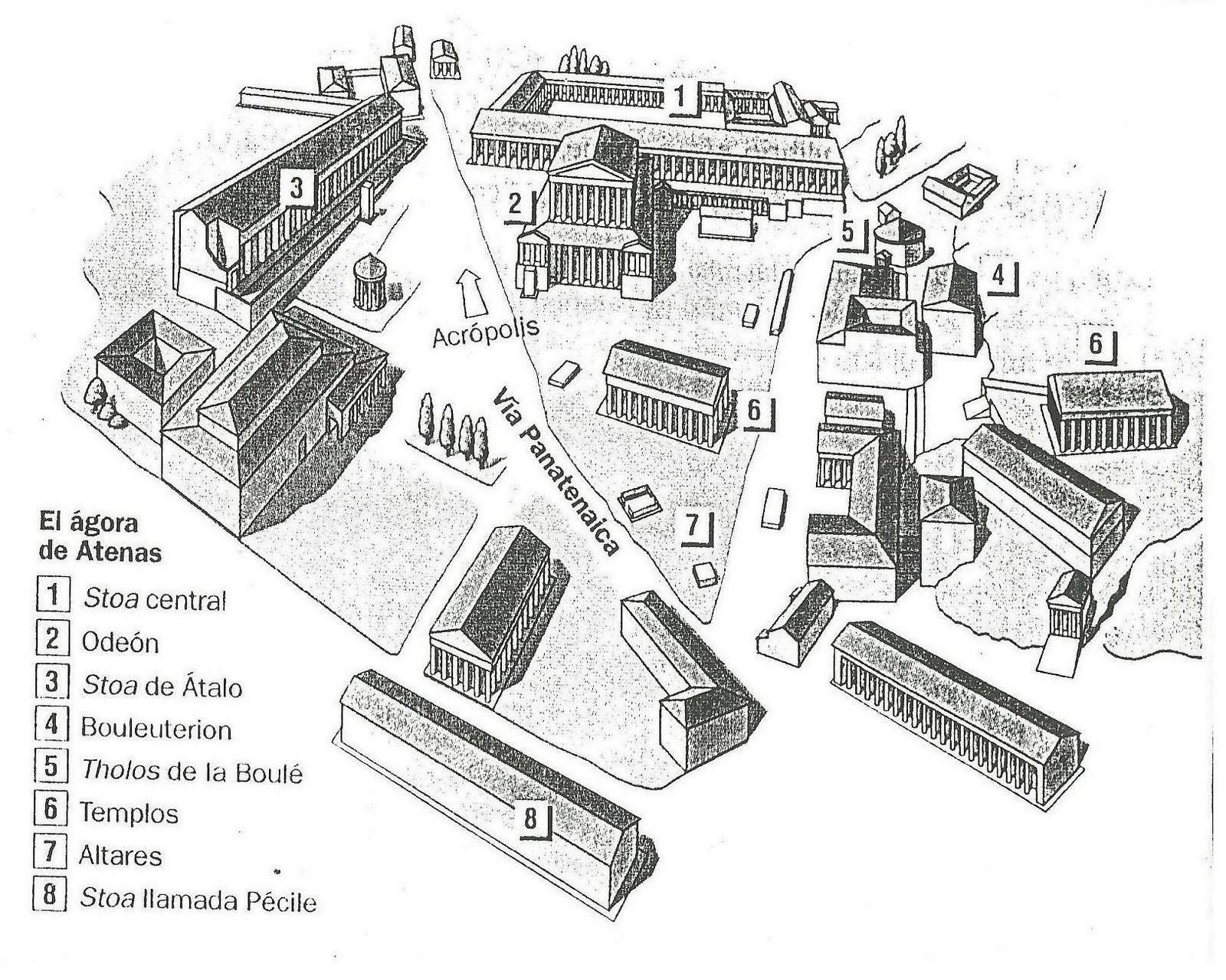 esparta arquitectura:
