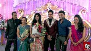 Actor Bharath – Jeshly Wedding Reception Full Video | Vikatan Tv
