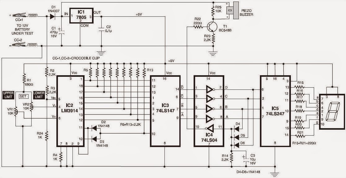Charge Circuit Diagram