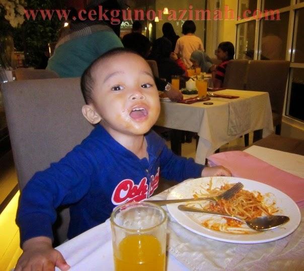 Irfan yang kuat makan !