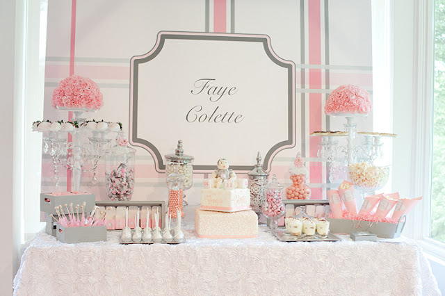 Minneapolis Dessert Bar for Baby Shower