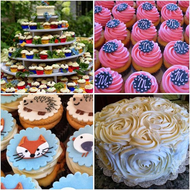 Collection of desserts from @flourandsun as featured on @PintSizedBaker!