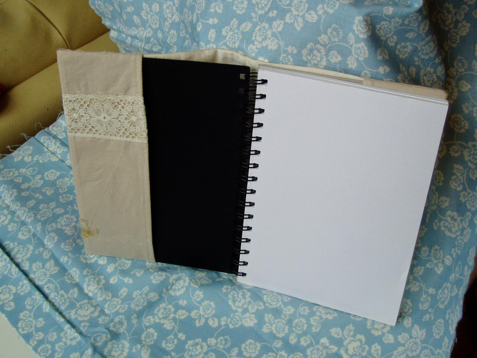 Instructions For Fabric Book Cover ~ Charlotte scott textile artist fabric book cover tutorial