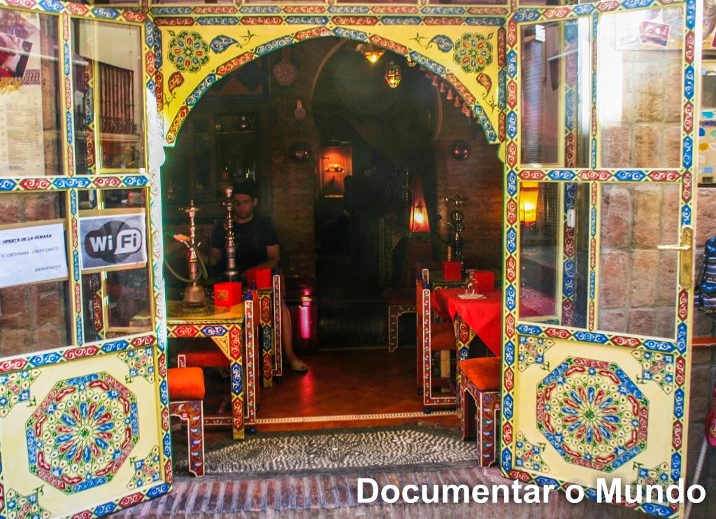 Albaicín; Bairro árabe de Granada; Espanha; Andaluzia