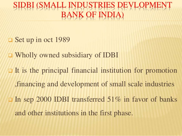 development financial institutions in india pdf