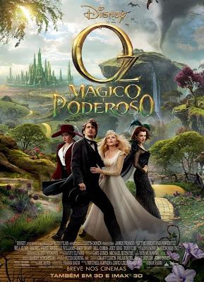Filme Poster OZ - Mágico e Poderoso TS XviD & RMVB Dublado