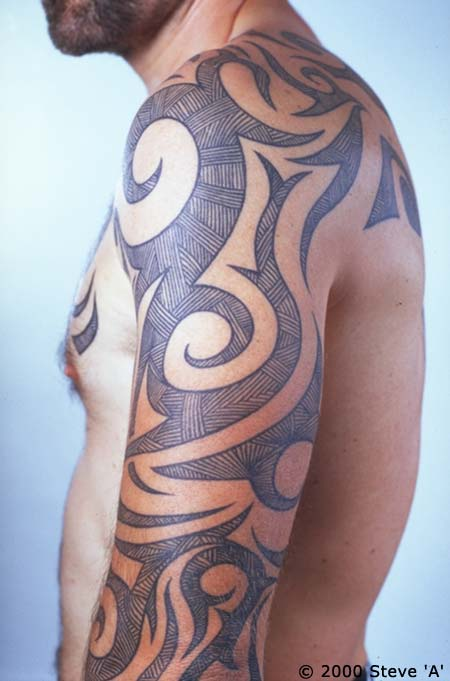 tribal sleeve tattoos-07