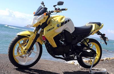 Fairing Yamaha Byson 2012 Tauring warna kuning