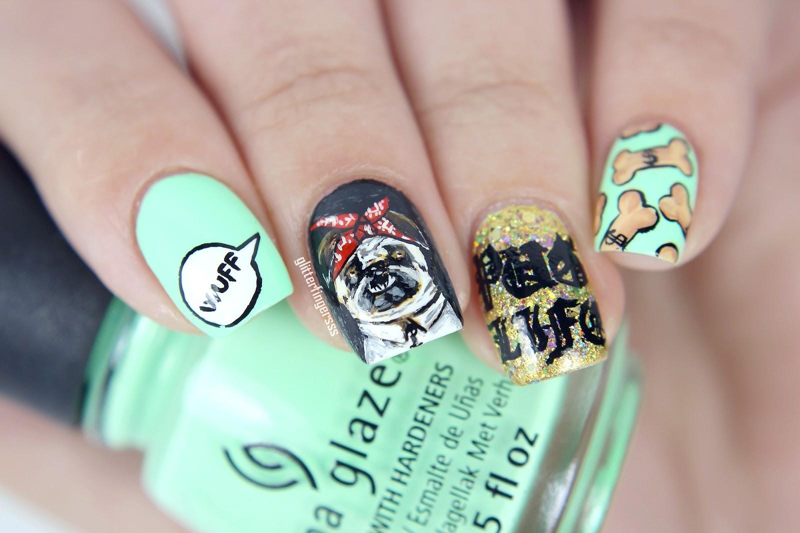 Pug Life ~ Glitterfingersss in english