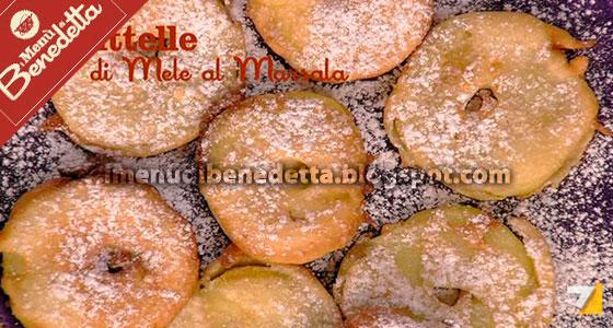 Frittelle di Mela al Marsala di Benedetta Parodi
