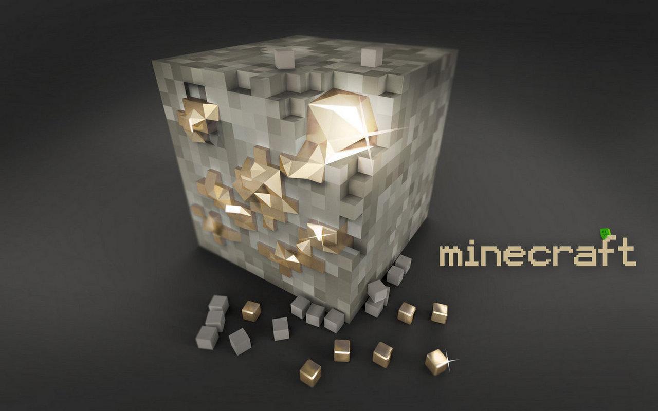 Butter Ore Minecraft Wallpaper Desktop Hub: Minecraft...