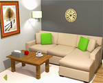 Nordic Living Room Escape Juegos