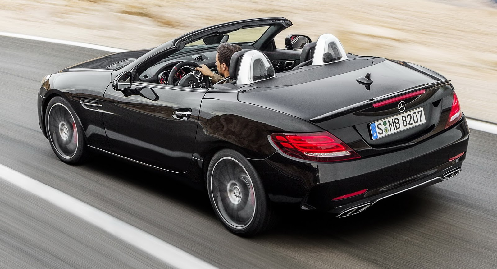 Mercedes SLK morphs into freshened SLC roadster for 2017