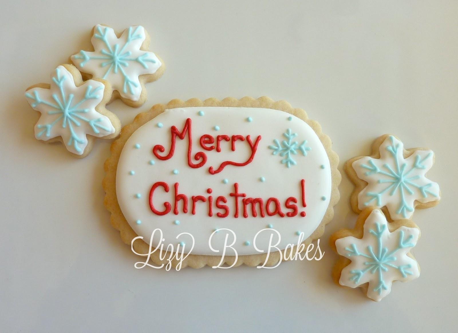 Lizy B: Christmas cookies...finally!
