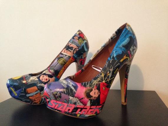star trek heels