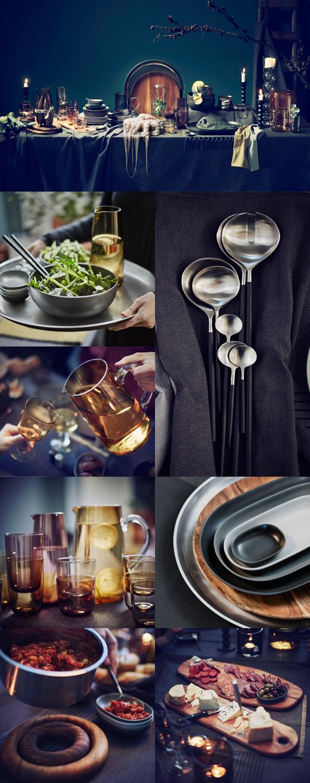 IKEAs höstnyhet 2015 - SITTNING fat, glas, bricka, kastrullunderlägg, serveringsbestick | www.var-dags-rum.se
