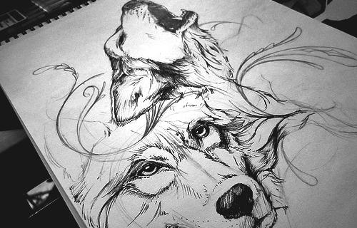 Luna Llena Captulo 5 Dibujo