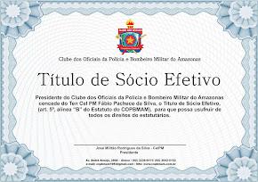 NOVO TÍTULO DE SÓCIO: VENHA SOCILITAR O SEU!
