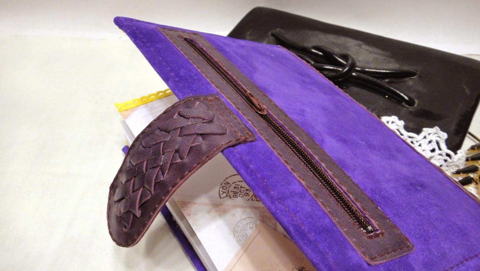 Бизнес-ежедневник с карманом на обороте для купюр и паспорта