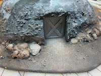 Painting Back Door of the Warhammer 40k Bunker