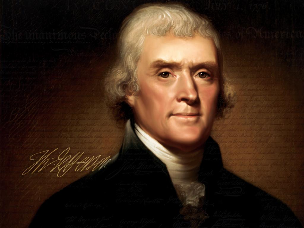 Political Pistachio Thomas Jefferson S Opinion Of Obama S