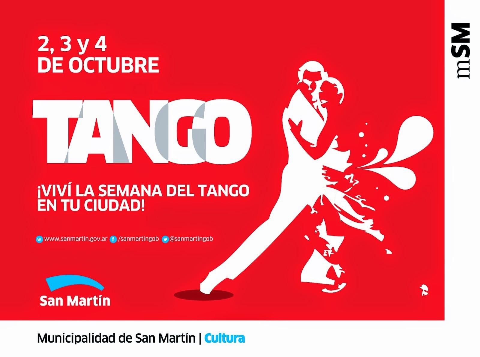2 al 4 de Octubrer: a puro tango