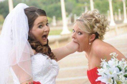 Fistful wedding.