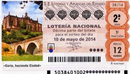 Décimos del sorteo especial de mayo en la Lotería Nacional