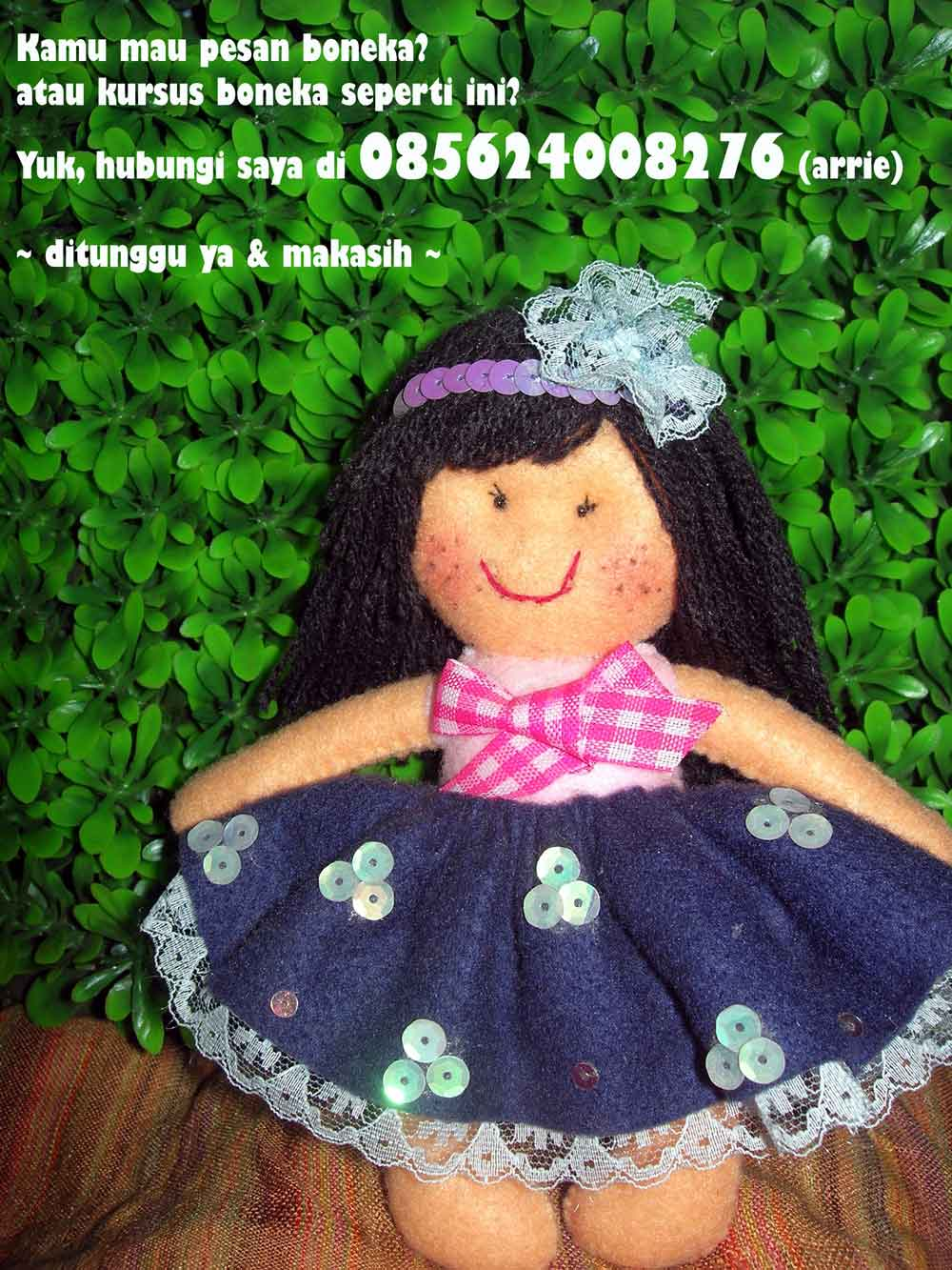 membuat boneka dari flanel sudah termasuk alat dan bahan ada boneka ...