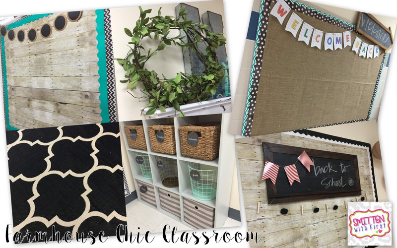 Rustic Classroom Decor ~ Classroom tour with lots of freebies smitten first