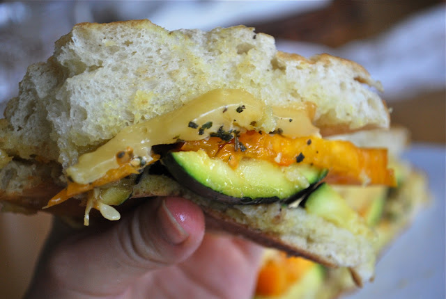 The best veggie sandwich | C'est la vie