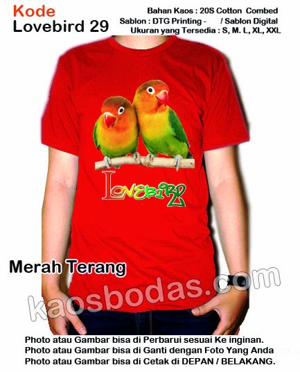 Kaos Lovebird 29