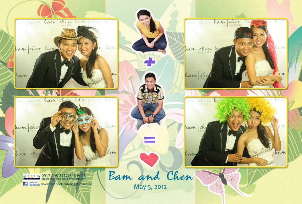 Bam and Chen's Wedding Photobooth