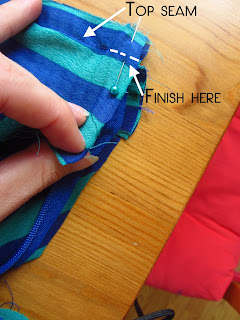Easy breezy skirt sew along, day #6 | Bobbins of Basil #easybreezyskirt