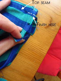 Easy breezy skirt sew along, day #6 | Bobbins of Basil #easybreezyskirt