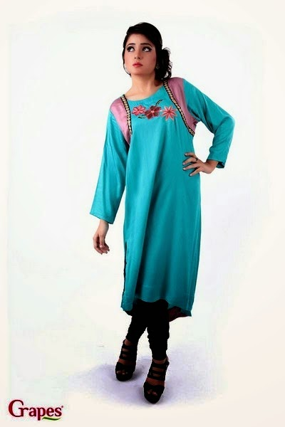 Ladies Cotton Silk Embroidered Kurta