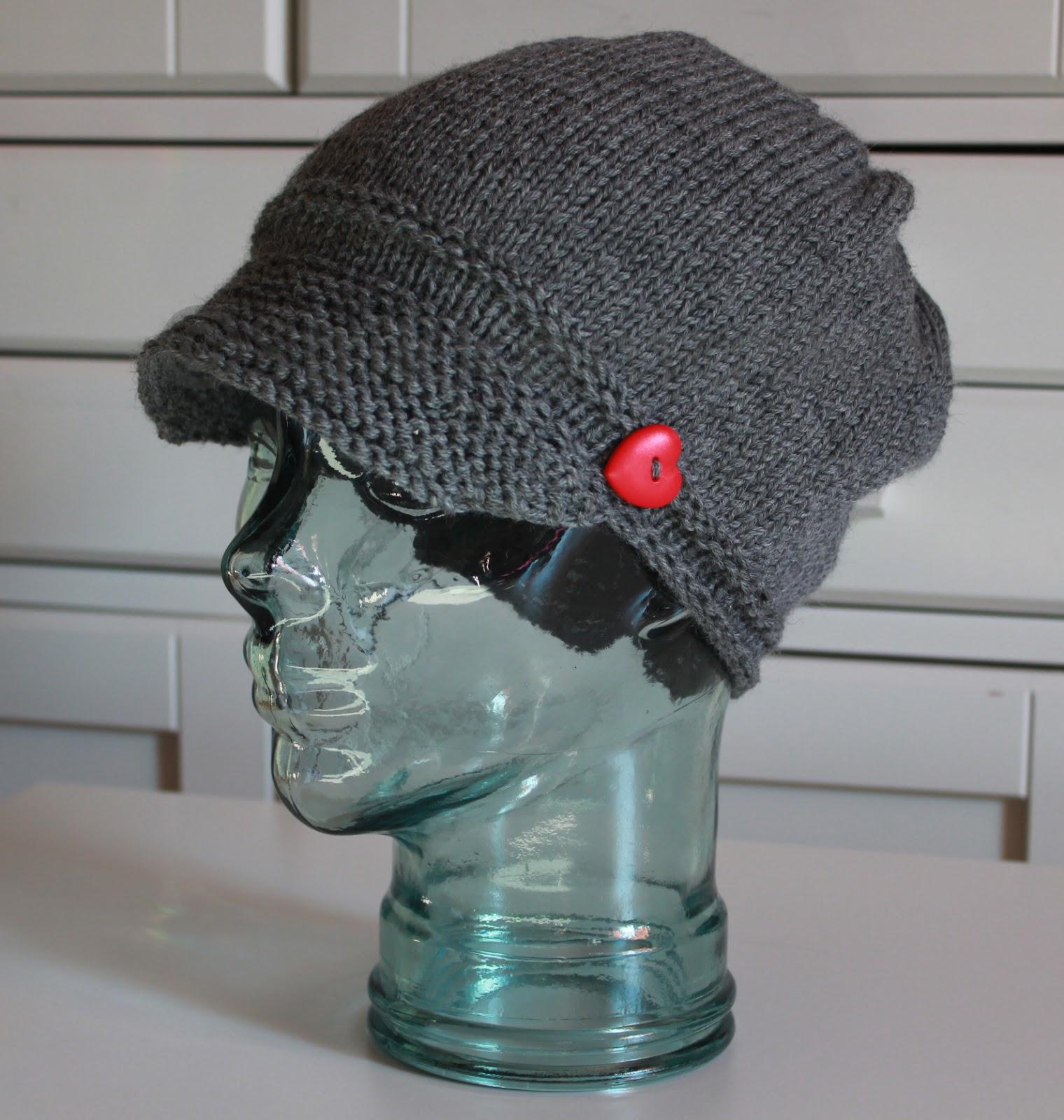 Strikka lue - Bølle hatt