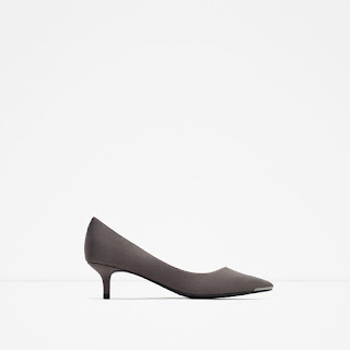 Zara Mid Heel Shoes