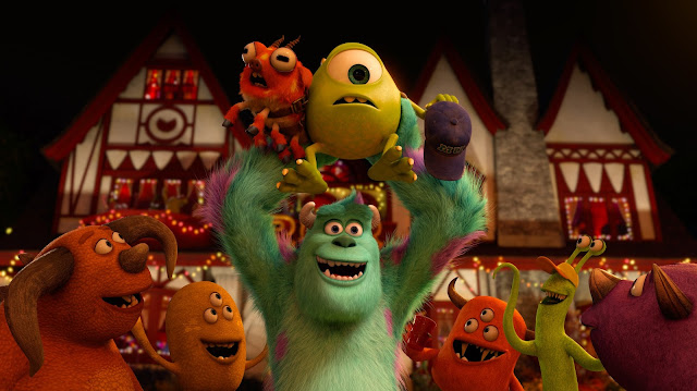 Review: monsters university and the blue umbrella