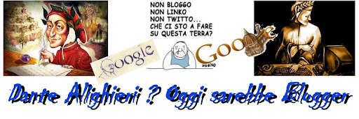 Dante Alighieri ? Oggi sarebbe un blogger