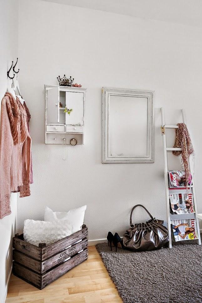 Ana se va de compras decorar con cajas de madera - Decorar cajas de zapatos ...