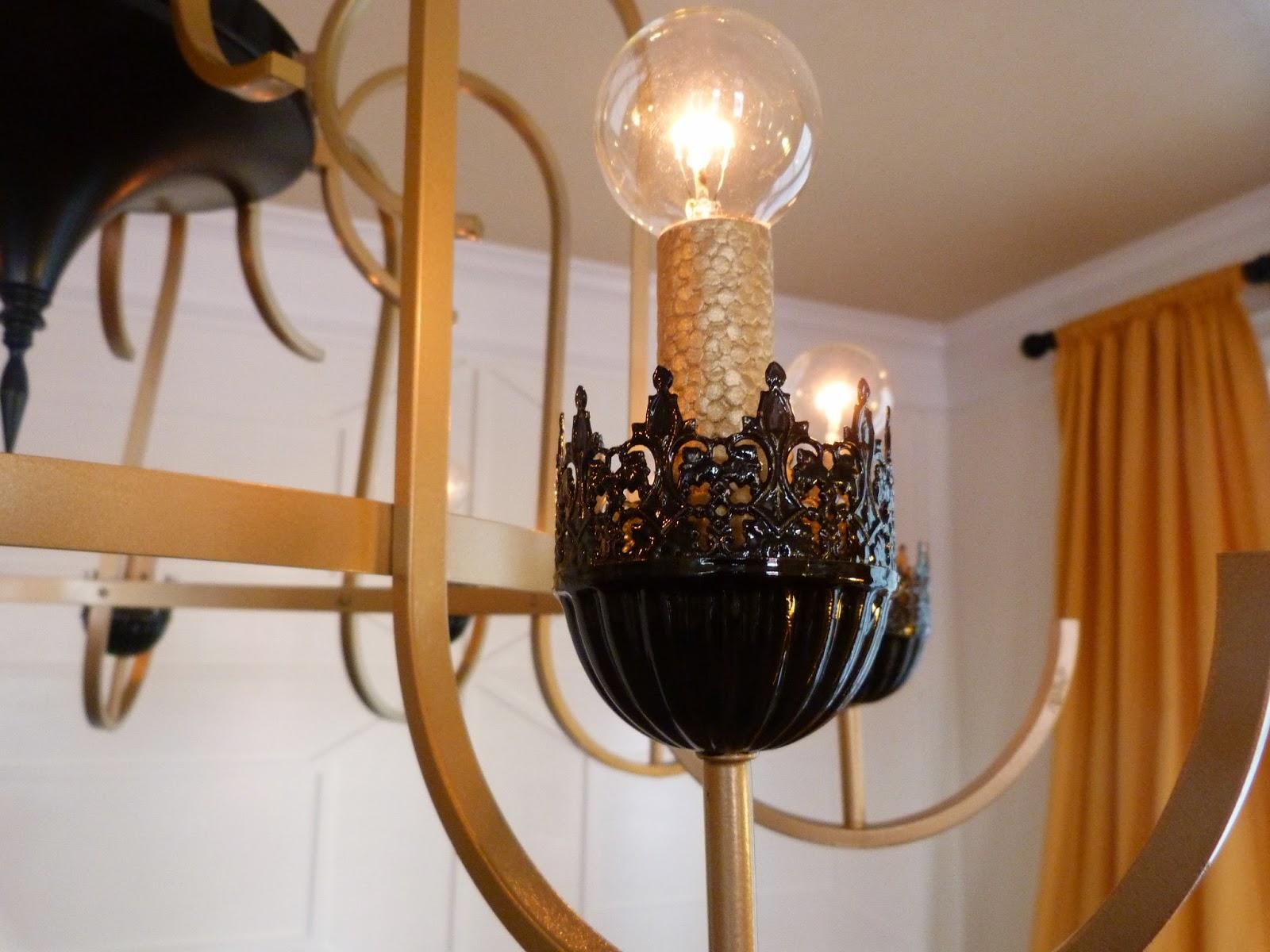 House Envy REVEAL Floor to Ceiling Trim & Chandelier Facelift