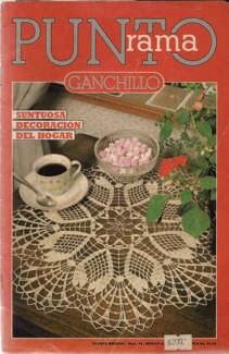 R17 Punto Rama Ganchillo - Suntuosa Decoración del Hogar