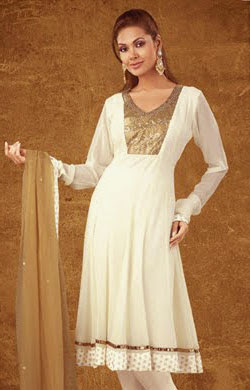 Latest Beautiful Pakistani Dress 2012