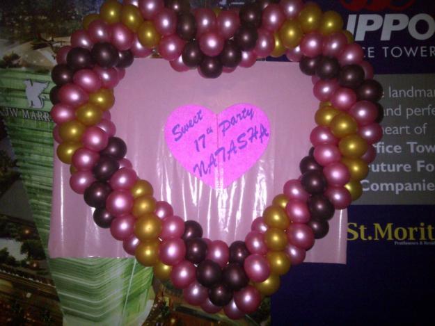 Dekorasi balon disurabaya for Dekor ulang tahun