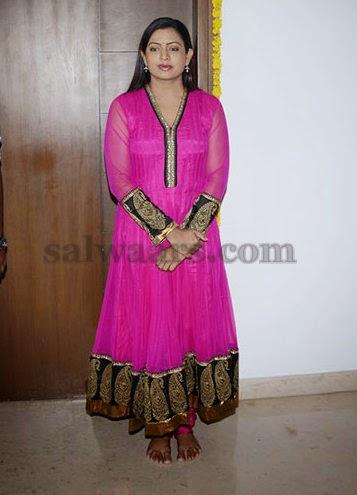 Indraja Pink Salwar Kameez