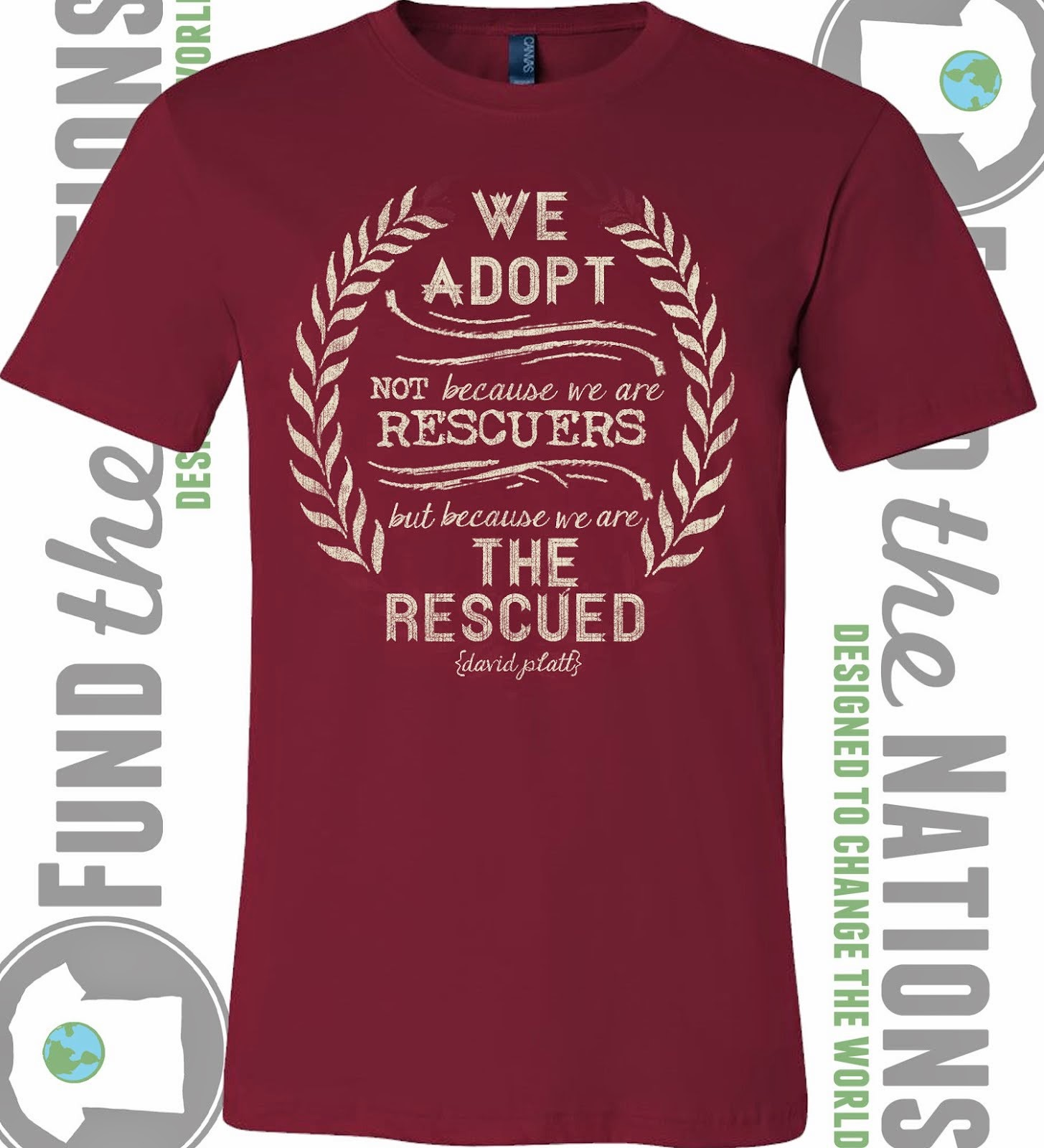 """The Rescued"" Cardinal T-Shirt"