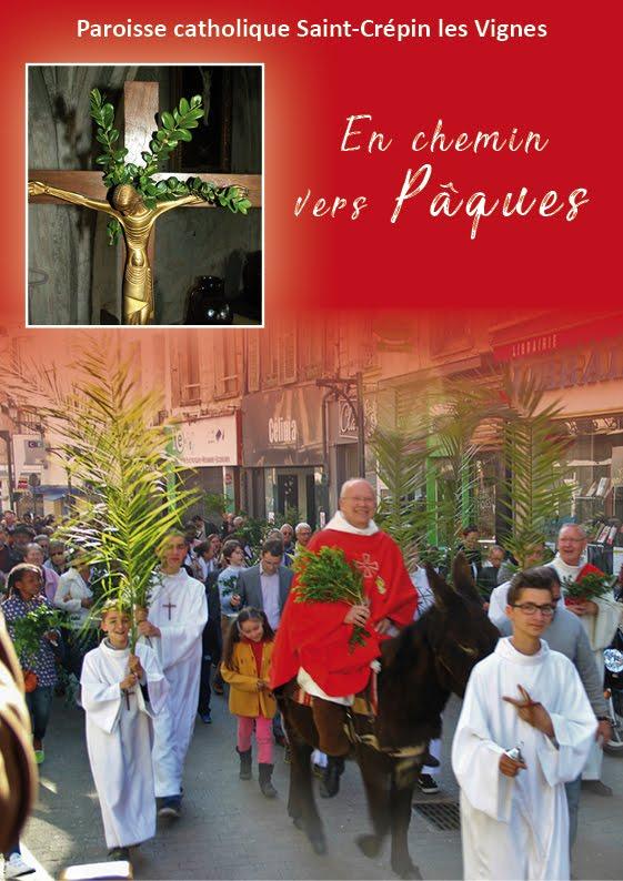 Horaires de la Semaine Sainte 2018 à la paroisse