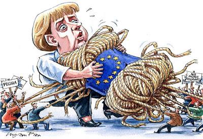 Angela Merkel, Financial Times, migráció, menekültválság,