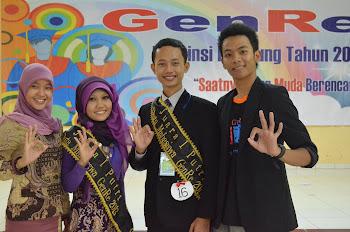 Juara 1 Duta Mahasiswa GenRe Tingkat Provinsi Lampung 2013